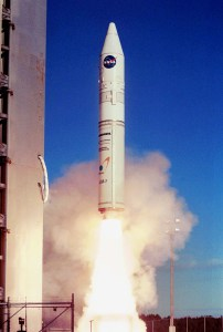 Athena_1_rocket_launching_from_Kodiak_Island